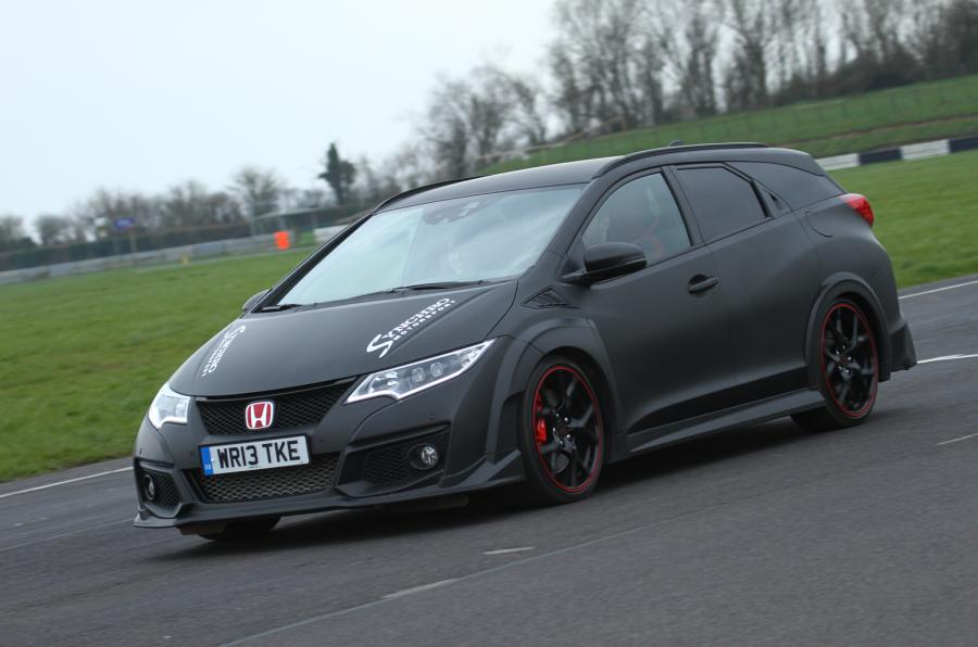 tourer type r Synchro Motorsport dá a conhecer Honda Civic Tourer Type R