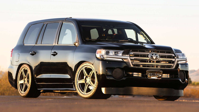 12345 Toyota Land Cruiser – 2000 cavalos e 355 km/h de velocidade máxima