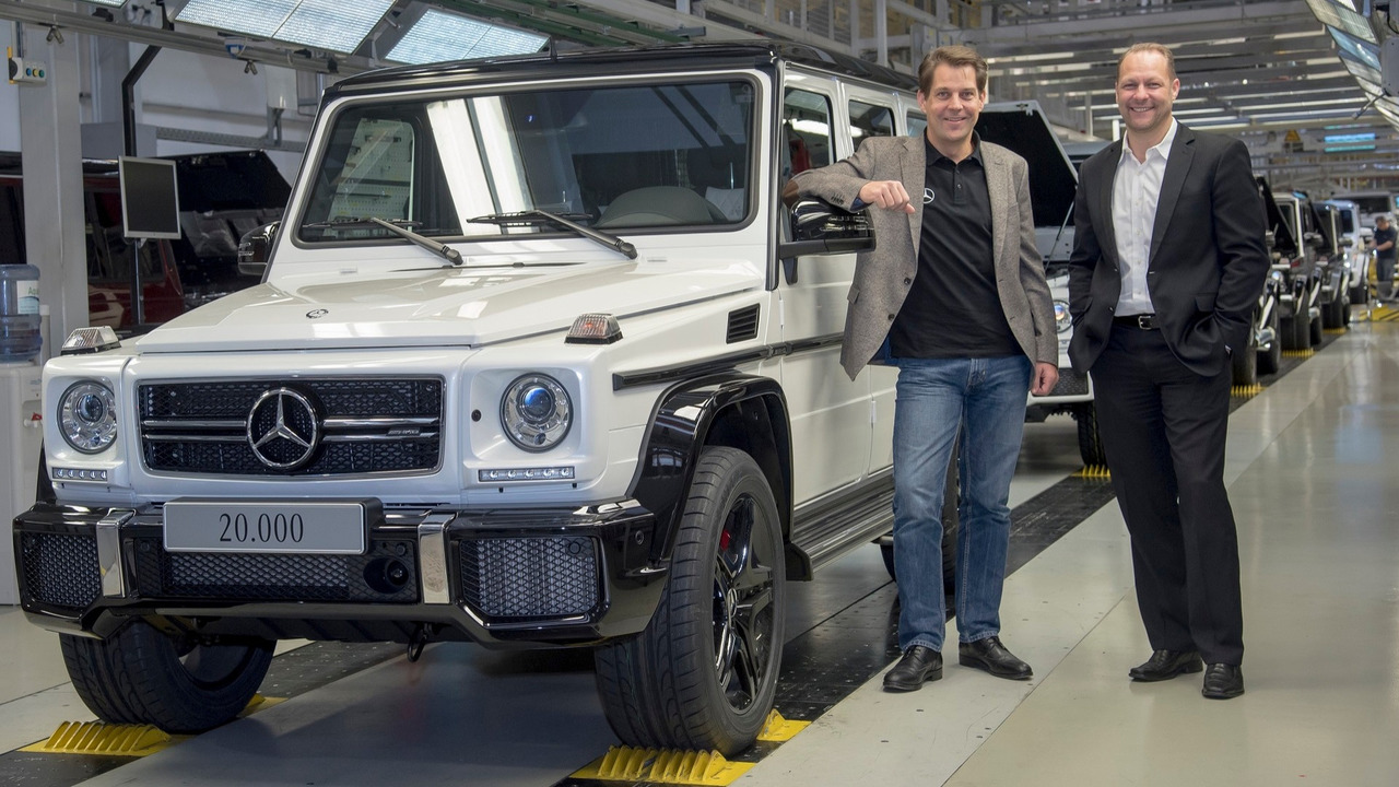 2016 mercedes amg g63 on production line Sucesso comercial do Mercedes Benz Classe G