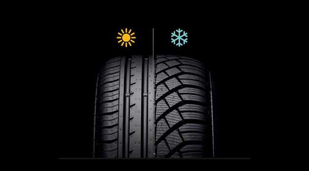 pneus verao pneus inverno Escolher o melhor pneu: Pneus todas as estações, de Inverno e de Verão