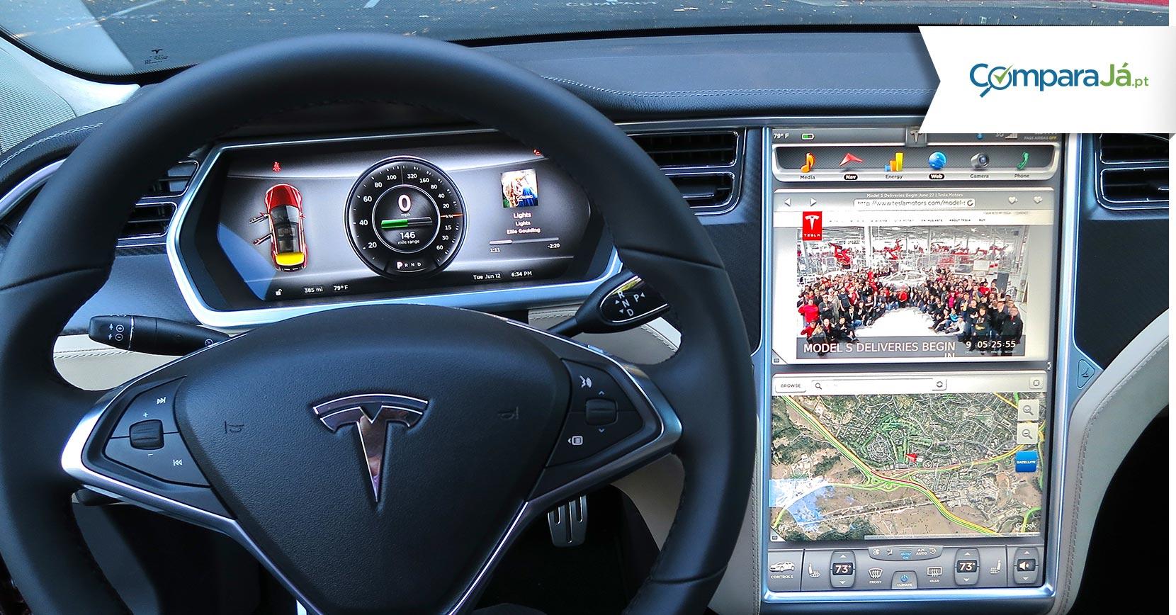 ComparaJá.pt Seguro Automóvel Danos Próprios Sabe quanto custa segurar um Tesla?