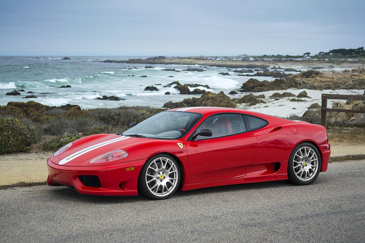 Ferrari 360 Challenge 18964877690 Finanças colocaram a leilão um exclusivo Ferrari F350 Challenge Stradale