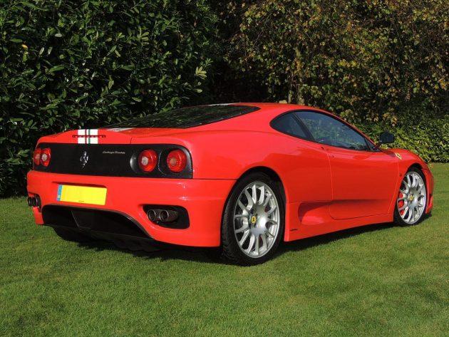 Ferrari 360 Challenge Stradale 15065259364 630x473 Finanças colocaram a leilão um exclusivo Ferrari F350 Challenge Stradale