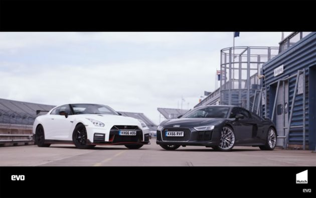 Untitled 1 1 630x394 Audi R8 V10 Plus vs Nissan GTR Nismo – Tiff Needell coloca os à prova em pista