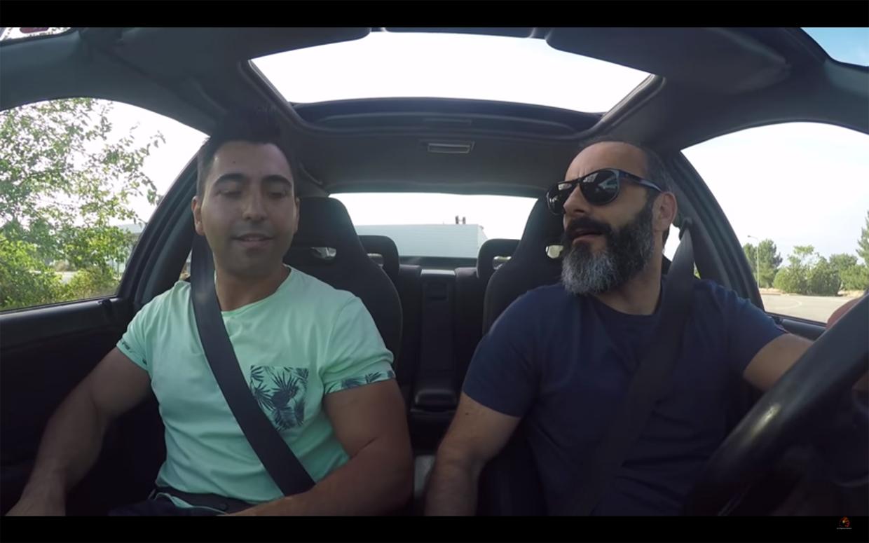 Untitled 1 Yuri Francês deixa Rui Unas ao rubro no seu Honda Civic