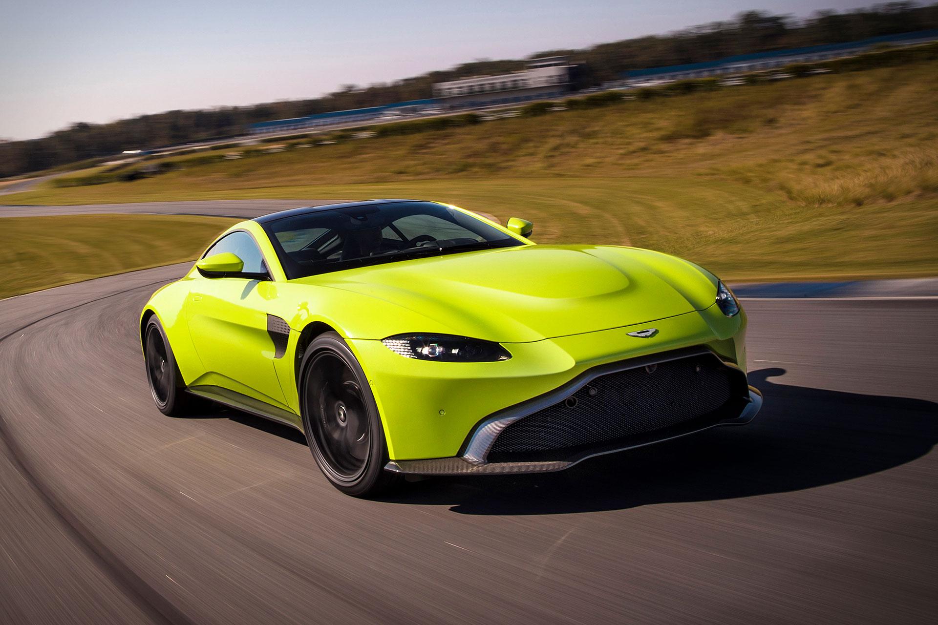 123 Futuro Aston Martin Vantage revelado