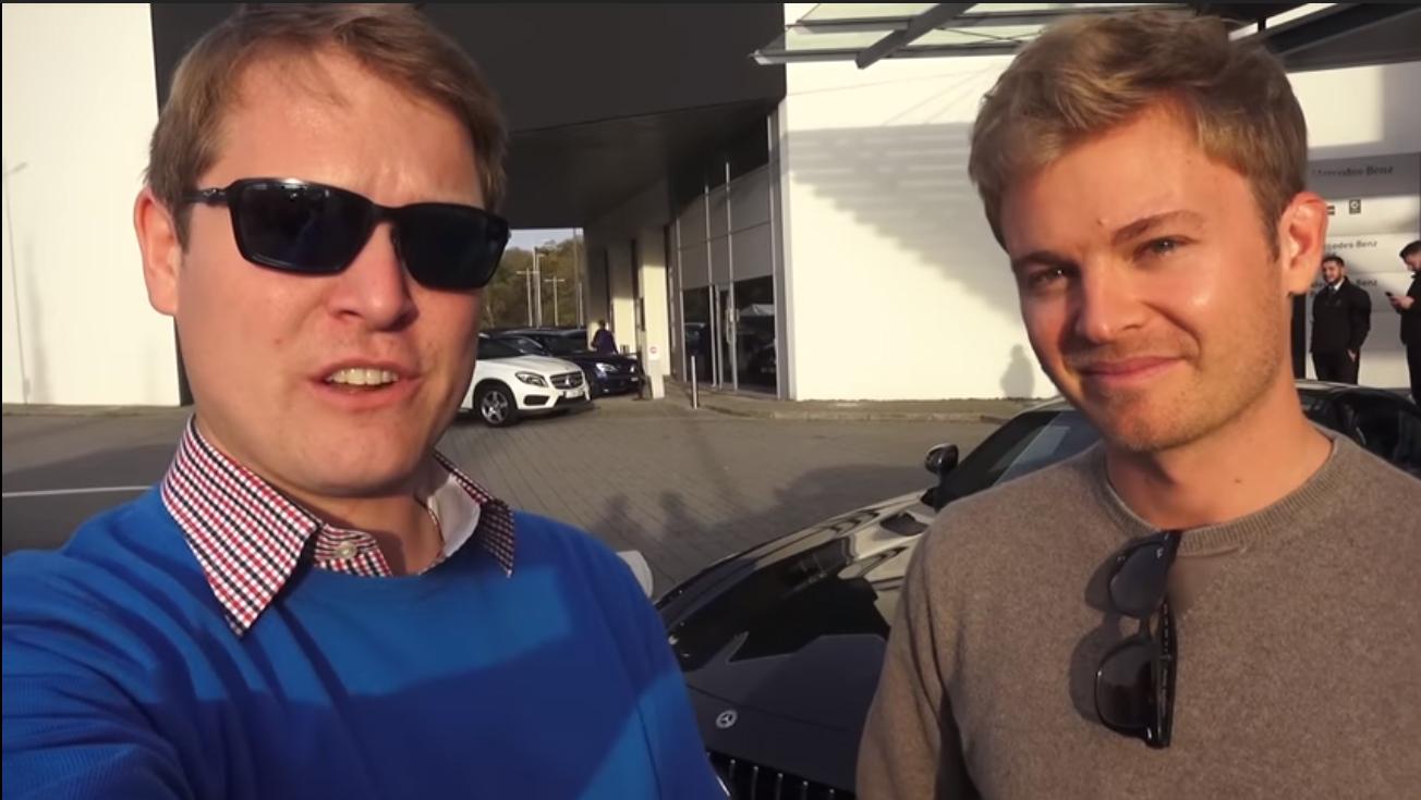 Untitled 2 Shmee150 conhecido youtuber e o ex Campeão do Mundo de F1 Nico Rosberg juntos em dia especial