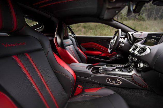 aston martin vantage 3 630x420 Futuro Aston Martin Vantage revelado