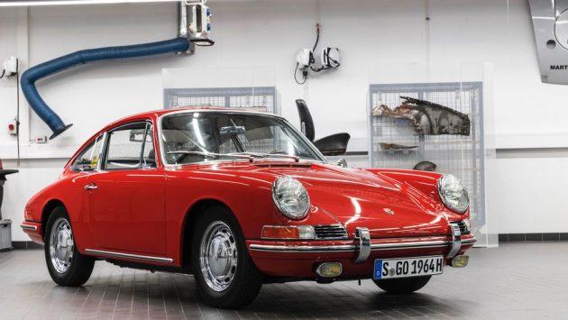 high 911 barn find 2017 porsche ag 5 630x355 A Porsche restaurou um fantástico e raro 901 de 1964