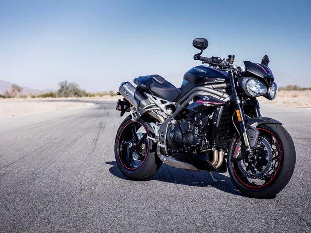 Triumph Speed Triple RS 02 630x473 Triumph Speed Triple – Totalmente renovada