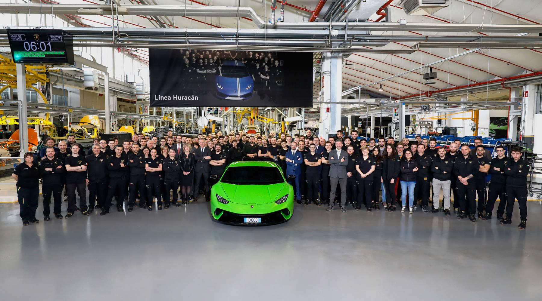 29187158 2357883380903935 7562712731309047808 o 10.000 unidades produzidas – O sucesso comercial do Lamborghini Huracan