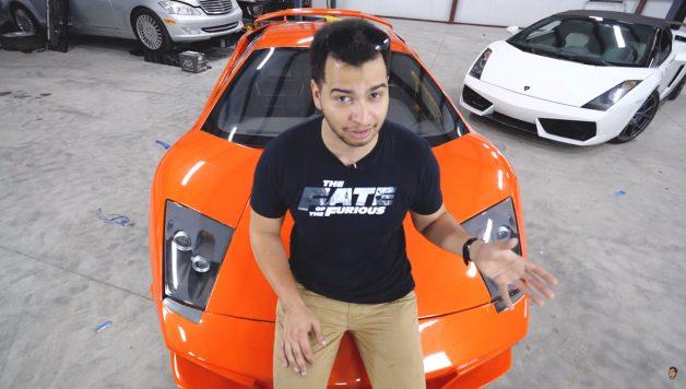 Untitled 1 copy 628x356 O youtuber Tavarish compra Lamborghini da saga Velocidade Furiosa
