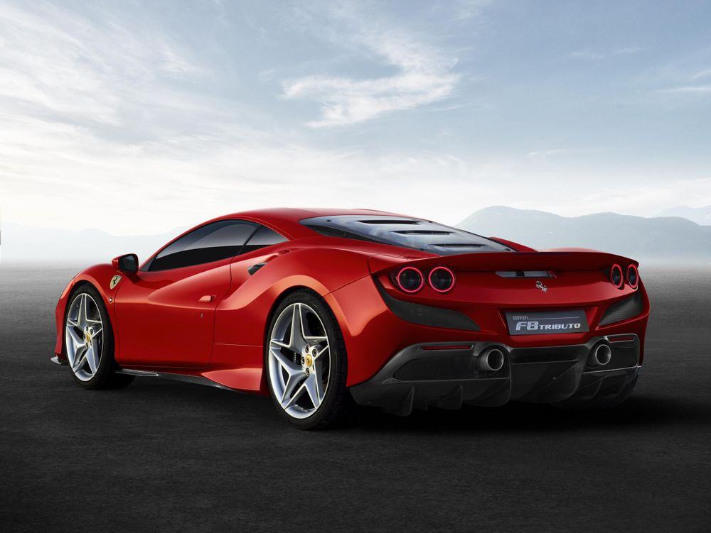 ferrari f8 tributo 2 Ferrari F8 Tributo   O sucessor do 488 GTB
