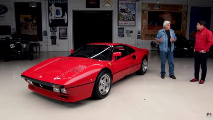 Untitled 1 copy 2 430x244 Jay Leno´s Garage e o Ferrari 288 GTO