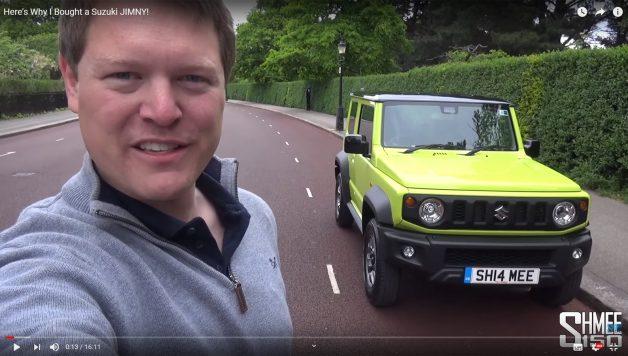 Untitled 1 copy 2 628x356 Suzuki Jimny – A nova aquisição do famoso youtuber!