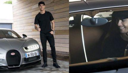csm 01 CR7xBUGATTI Chiron 5808687235222222 430x244 Cristiano Ronaldo comprou o automóvel mais caro do mundo