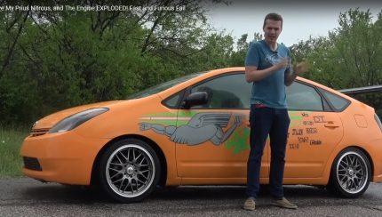 Untitled 1 copy 2 430x244 Nitro num Toyota Prius? Péssima ideia mas divertida.