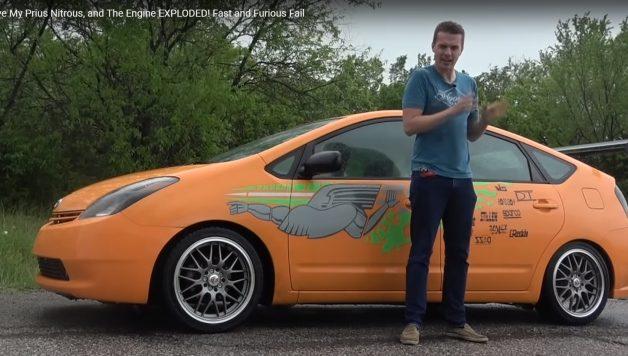 Untitled 1 copy 2 628x356 Nitro num Toyota Prius? Péssima ideia mas divertida.