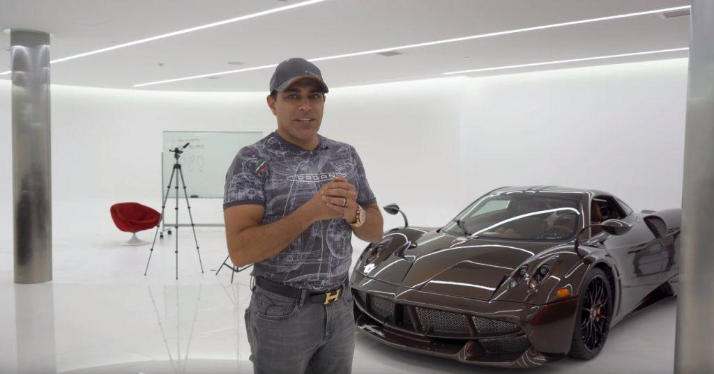 m 1024x537 Pagani Huayra Hermes de 5 Milhões de dólares pelas mãos de Manny Khoshbin