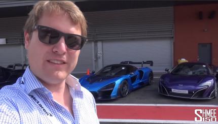 smhee 430x244 Shmee explora as diferenças entre os seus McLaren