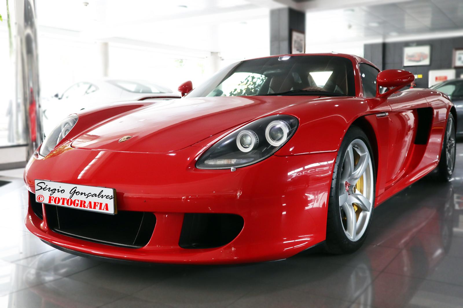 Um Incrivel Porsche Carrera Gt A Venda Em Portugal