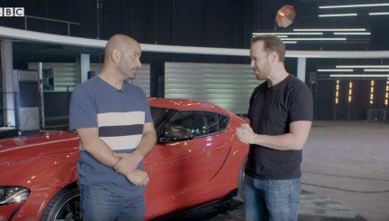 Untitled 1 copy 430x244 A opinião menos positiva de Chris Harris sobre o novo Toyota Supra