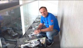 asdasdasdasd 280x161 Rubens Barrichelo num tour pelas suas miniaturas e troféus de carreira na F1