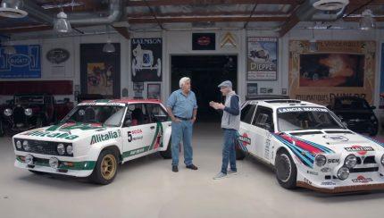 123 430x244 Jay Leno´s Garage – Os icónicos Lancia Delta S4 e Fiat 131 Abarth