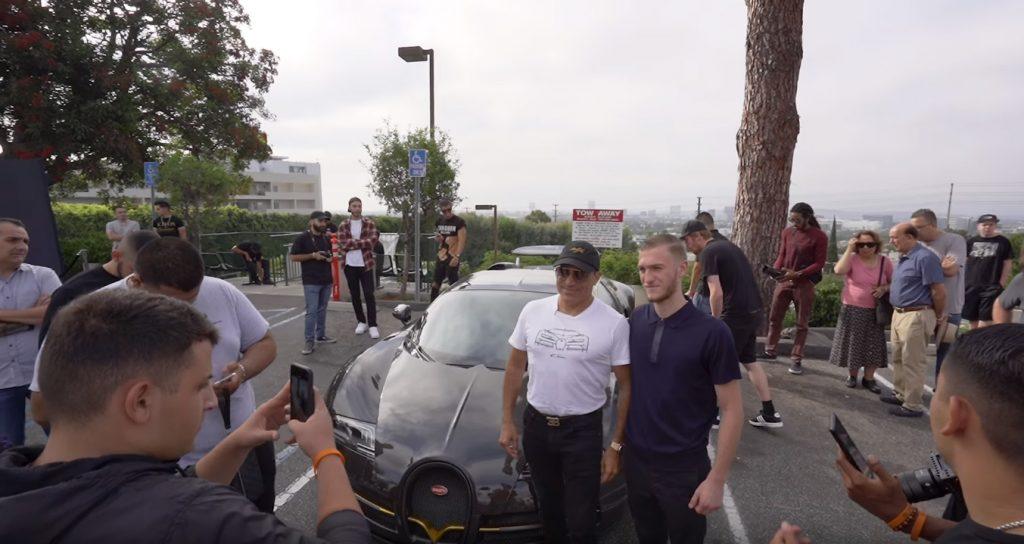 manny 1024x544 Manny Khoshbin leva o seu Bugatti Veyron Mansory a um dos encontros mais carismáticos em Los Angeles