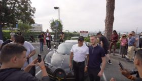manny 280x161 Manny Khoshbin leva o seu Bugatti Veyron Mansory a um dos encontros mais carismáticos em Los Angeles