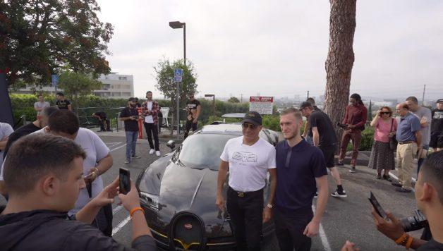 manny 628x356 Manny Khoshbin leva o seu Bugatti Veyron Mansory a um dos encontros mais carismáticos em Los Angeles