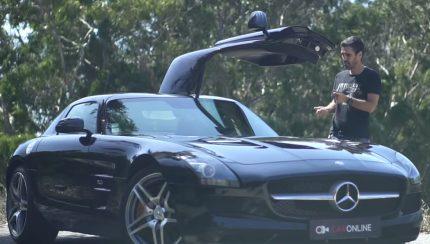 sls amg 1 430x244 Mercedes SLS AMG – Um carrão em ensaio no canal CarOnlineTV