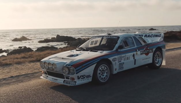 Untitled 2 copy 628x356 Davide Cironi ao volante do icónico Lancia 037