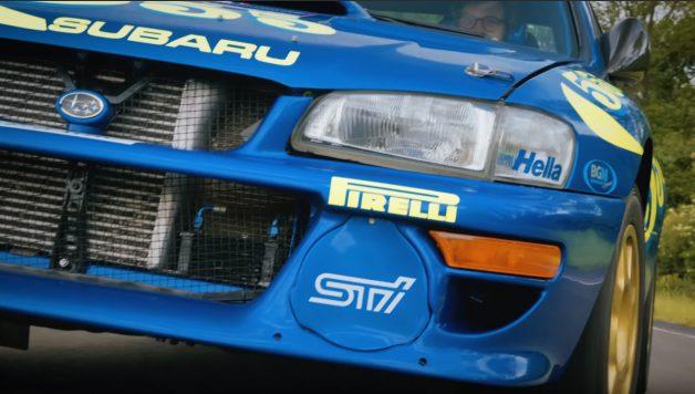 scoobie 628x356 Subaru WRC de Colin McRae nas mãos de Henry Catchpole