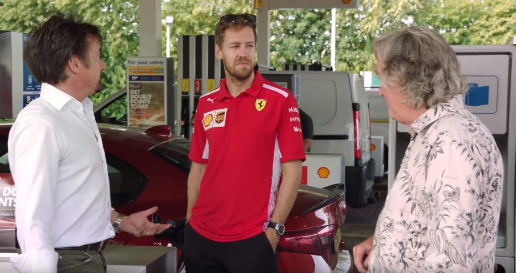 shell 1 1024x542 O que fazem juntos James May, Richard Hammond e Sebastian Vettel?
