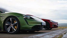 fdfdg 280x161 Porsche Taycan Turbo S vs Tesla Model S – Topos de gama em duelo