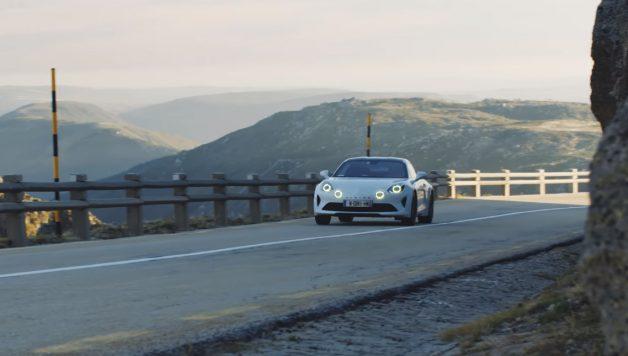 alpine 628x356 Um ensaio automóvel que é uma óptima publicidade ao A110S e ao nosso país