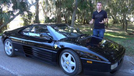ferrari 430x244 O Ferrari 348 mais barato dos USA com quase 160.000 kms