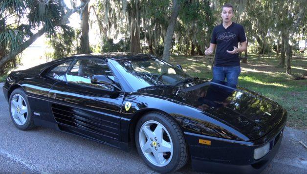 ferrari 628x356 O Ferrari 348 mais barato dos USA com quase 160.000 kms