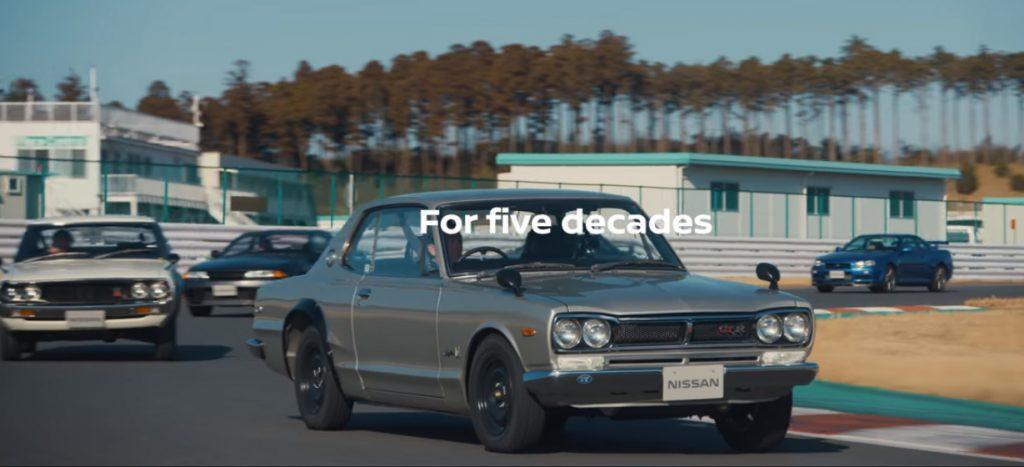 gtr 1024x467 A Nissan celebra os 50 anos do modelo GT R