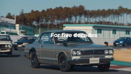 gtr 430x244 A Nissan celebra os 50 anos do modelo GT R