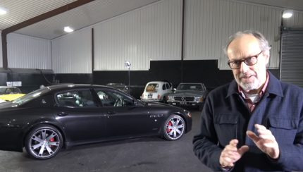 maserati 430x244 Maserati Quattroporte 4.7 V8 Sport GTS – Uma berlina recheada de carácter