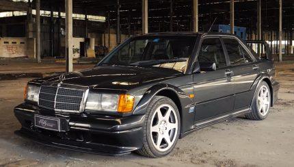 merc 430x244 Mercedes Benz 190 E 2.5 16v Evolution II – A versão final de um ícone