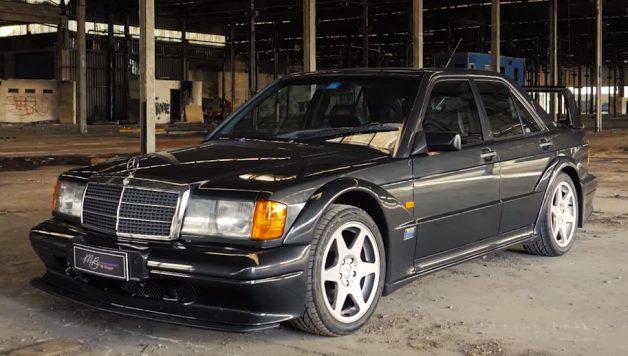 merc 628x356 Mercedes Benz 190 E 2.5 16v Evolution II – A versão final de um ícone