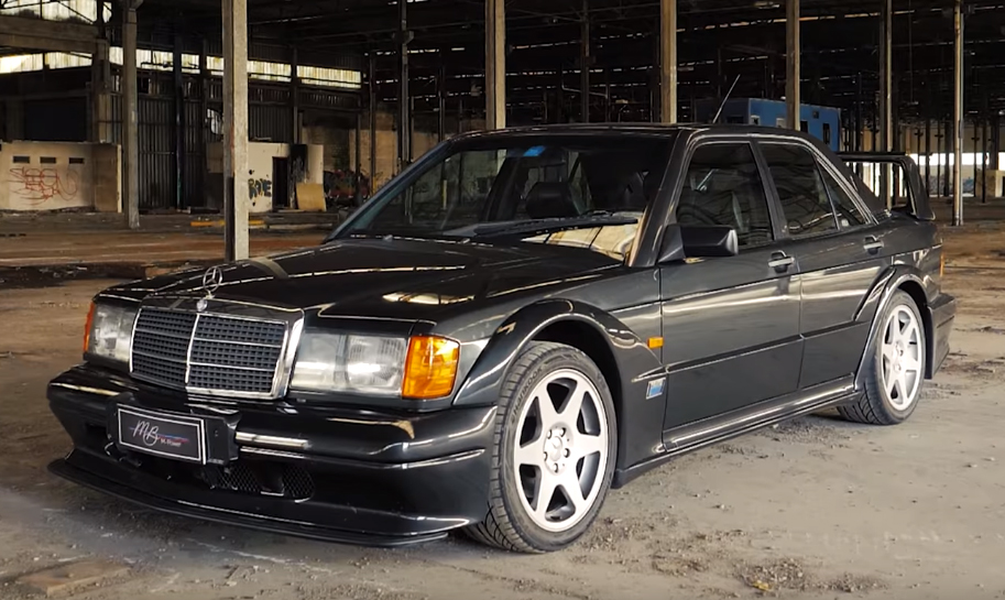 merc Mercedes Benz 190 E 2.5 16v Evolution II – A versão final de um ícone