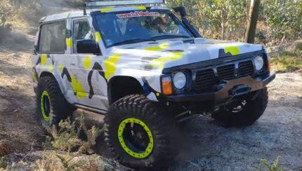 patrol 430x244 Nissan Patrol GR Y60 no canal Sobre Rodas PT