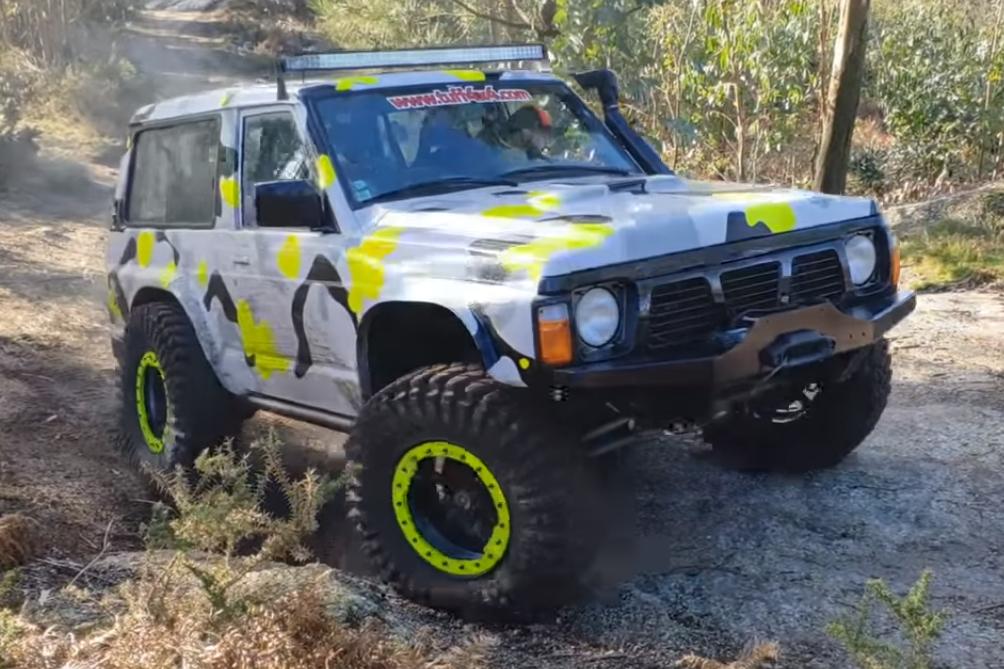 patrol Nissan Patrol GR Y60 no canal Sobre Rodas PT
