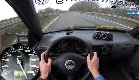 caddy 280x161 VW Caddy TDi do aço a fundo numa Autobahn