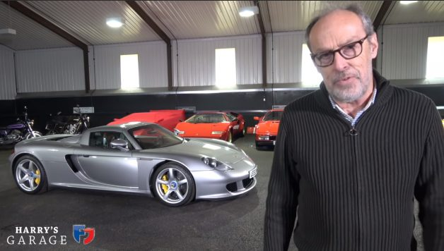 cgt 628x356 Harry´s Garage ensaia o magnífico Porsche Carrera GT
