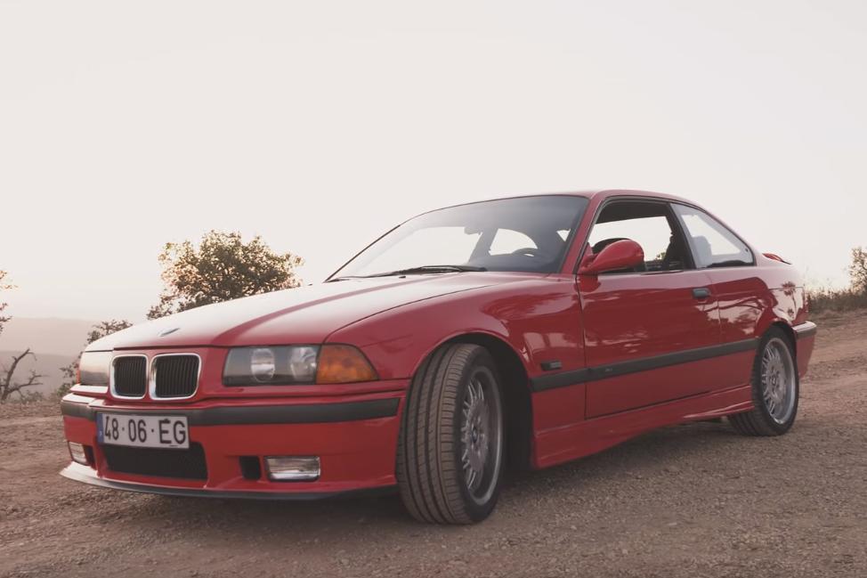 m3 Joel Rodrigues explora o BMW M3 E36 no canal Petrolheart